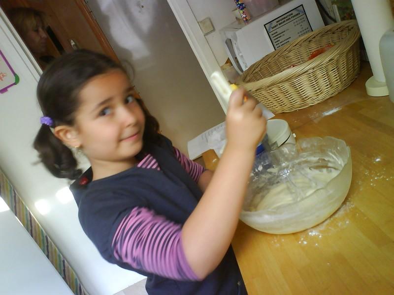 bien mélanger la pâte !