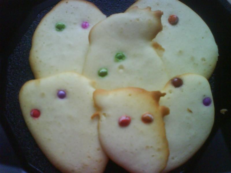 gâteaux fantômes pour Halloween