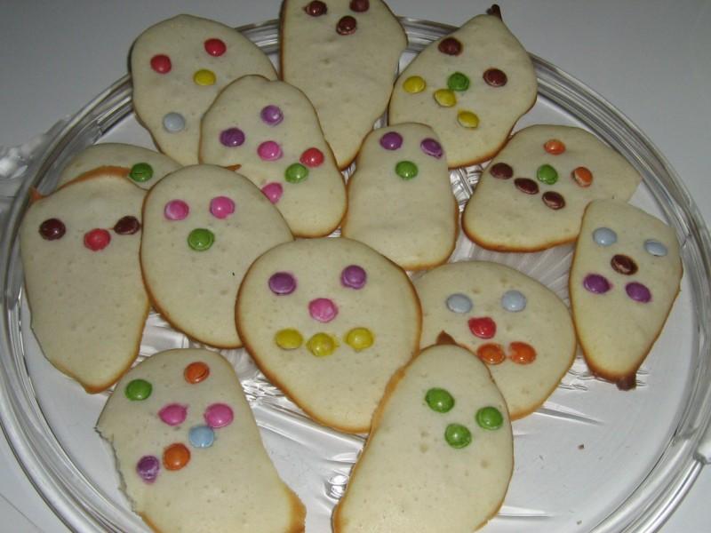 les gâteaux fantômes d'Andréa